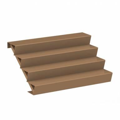 escalier-exterieur-corten-active-1,5 M-Les Serruriers-du-Paysage