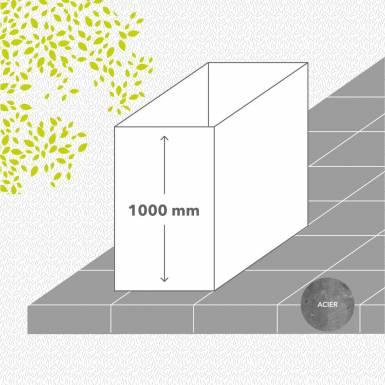 bac-de-jardin-en-kit-acier-galvanise-peint-hauteur-1000 mm-rectangle-Les-Serruriers-du-Paysage