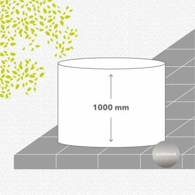 bac-de-jardin-soude-aluminium-peint-hauteur-1000 mm-rond-Les-Serruriers-du-Paysage