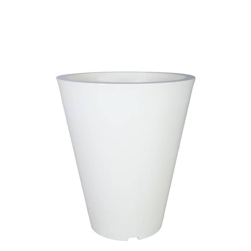 pot-de-fleurs-plastique-vase-blanc-signalisation-Les-Serruriers-du-Paysage
