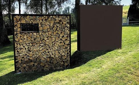 comment décorer un grand mur extérieur