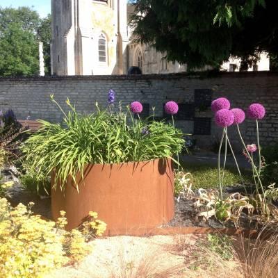 bacs jardin sans fond